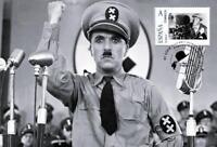 Spain 2013 - The world of cinema - Charles Chaplin II maxicard