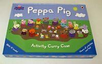 Peppa Pig Activity Carry Case 10 Sticker and Activity Books Box Set Nursery New