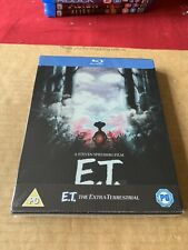 E.T. The Extra-Terrestrial 35th Anniversary Steelbook Blu Ray New & Sealed Rare!