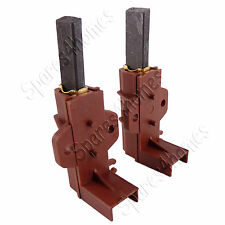 Pair of PA66 Washing Machine Welling Motor Carbon Brushes Haier Hotpoint Indesit