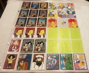 The World Of The Simpsons Special Insert Trading Cards:  Choose from a selection