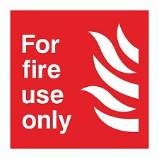 1x for fire use only sticker warning door home lock box store