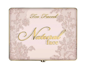 NIB Too Faced Natural Face Palette 100% Authentic $44 Retail Beautiful!!!