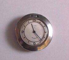 Vintage Elgin Shockmaster St.Christopher Sterling Silver Purse/Pocket Watch