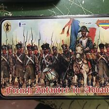 1/72 Napoleonic French  Infantry in advance Strelets M026