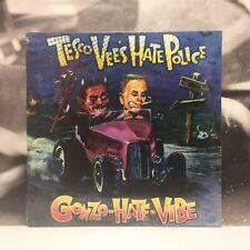 TESCO VEE'S HATE POLICE - GONZO HATE VIBE LP SEALED 1992 US STAPLE GUN SG002-LP