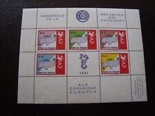 PARAGUAY - timbre yvert et tellier bloc n° 12 n** (Y2) stamp