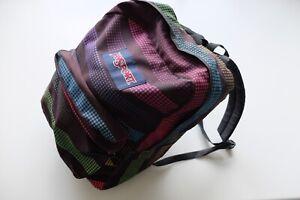 Vintage JanSport backpack Rucksack dot pattern Multicoloured rare