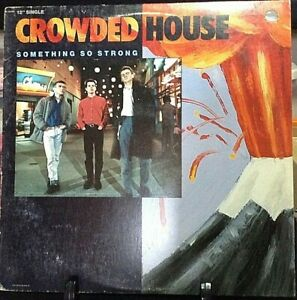 CROWDED HOUSE Something So Strong  SINGLES Album Released 1986 Vinyl USA