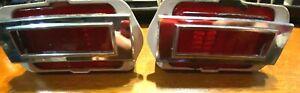 Be Bright - 2 OEM 1969 Chevrolet Chevelle Side Marker Lights GUIDE G13 SAE PI-69