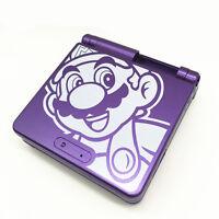 Lila Begrenzte Gehäuse Schale Hülle Teile für Nintendo Gameboy Advance SP GBA SP
