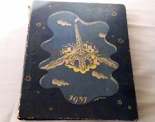 ANCIEN LIVRE AGENDA DE L'ÉLECTRICITÉ. 1937. PARIS,Edité par la S.N.A.P. + PLANS