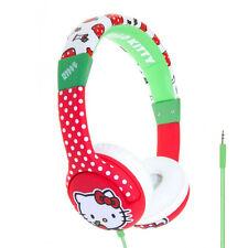 HELLO KITTY Children's Headphones for kids 3-7 years - Stereo Speakers