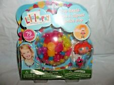 LALALOOPSY DOLL POP BEADS SET-79 PIECES-BEA SPELL-A-LOT W/ PET