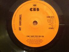 ART GARFUNKEL 1975 Vinyl 45rpm Single I ONLY HAVE EYES FOR YOU