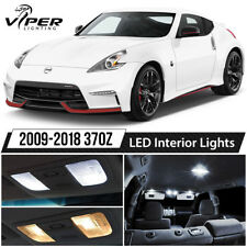 White LED Interior Lights Package Kit for 2009-2018 Nissan 370Z