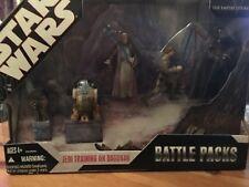 star wars battle pack training on dagobah