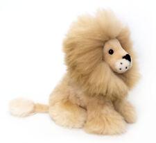 Alpaca Lion. Handmade on Baby Alpaca Fur. 11 inch. Beige Mane. Free Shipping!!!