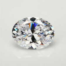 White Sapphire 13x18MM 19.53Ct Oval Cut AAAAA VVS Loose Gemstone