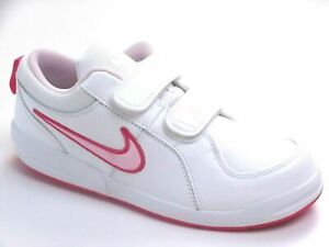 Nike Pico 4 Girls Shoes Trainers Uk Size 2     kids  454477 103 strap up