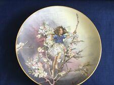 "Villeroy & Boch/Heinrich Flower Fairies Collection ""The Blackthorn Fairy "" plate"