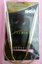 """10mm ADDI Premium Circular Knitting Needle 16""""/24""""/32"""""""