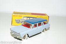 DINKY TOYS 548 FIAT 1800 FAMILIALE BLUE TWOTONE NEAR MINT BOXED RARE SELTEN!