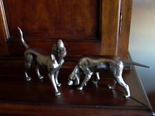 Vintage Pointers, Hound Dog Book Ends Figurines Statues