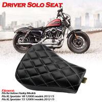 Motorrad Front Fahrer Solo Sitz Sitzbank für Harley Sportster XL1200 883 72 48