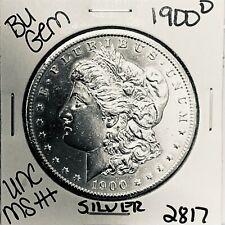 1900 O BU GEM MORGAN SILVER DOLLAR UNC MS++ U.S. MINT RARE COIN 2817