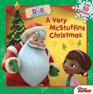 Doc McStuffins a Very McStuffins Christmas, Disney Book Group, New Book