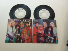 1980's Lot 2 PROMO DJ NM PS 45 's HEART - NOTHIN' AT ALL - IF LOOKS COULD KILL