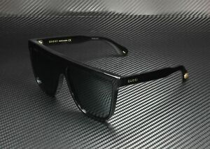 GUCCI GG0582S 001 Black Grey Gradient Men's Sunglasses 61 mm