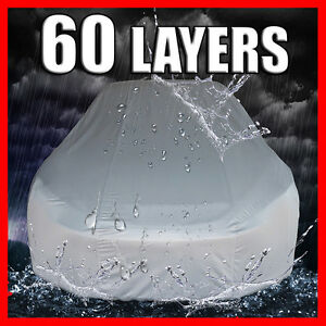 60 Layers Car Cover on EBAY! Guaranteed Satisfaction! Guaranteed fit!!