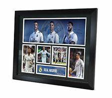 Real Madrid Signed 2017 photo Framed Memorabilia Limited Edition of 250
