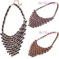 Modeschmuck-Halsketten & -Anhänger aus Stoff für Damen für besondere Anlässe