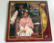 Rossini | Il Barbiere di Seviglia | PAL | LASERDISC still sealed