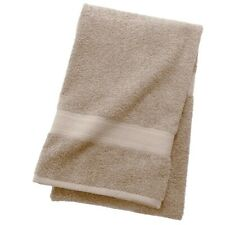 "Pack of 4 - The Big One Solid Bath Towel 30"" x 54"" 100% Cotton Sandstone NEW"
