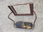 John Deere A Square Axle tractor JD battery box top deluxe seat frame w/ back