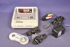 Super Nintendo SNES 1 puce avec Street Fighter Super II/console de jeu avec Game