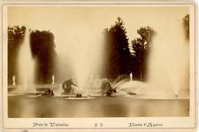 France, Versailles, parc de Versailles, le bassin d'Apollon  vintage albume