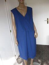 Emilia Lay  zauberhaftes Kleid Gr.48 blau  Ärmellos   NEU