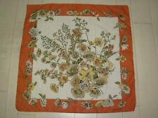 "Foulard / Carré Leonardi ""bouquet floral"""