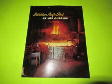 Bethlehem Pacific Steel Company At Los Angeles Magazine Brochure