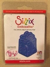 NEW! Retired Sizzix Embosslits Die- Gift #654698