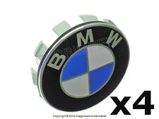 BMW e36 e38 e39 e46 e53 e60 Wheel Center hub Caps (4) + 1 year Warranty