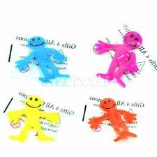 144 Stretchy Smiley Men Kids Party Fun Loot Bag Filler Mini Stretch Toys Bulk