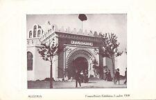 1908 Franco-British Exhibition Algeria
