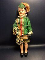 """Vintage 7-1/2"""" Hard Plastic Doll Sleep Eyes Lot 14"""