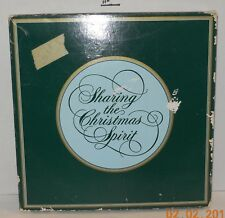 "Vintage Avon ""Keeping the Christmas Tradition"" 1982 Decorative Christmas Plate"